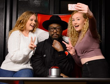 The Voice at Madame Tussauds London