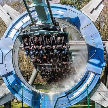 Galactica at Alton Towers Resort