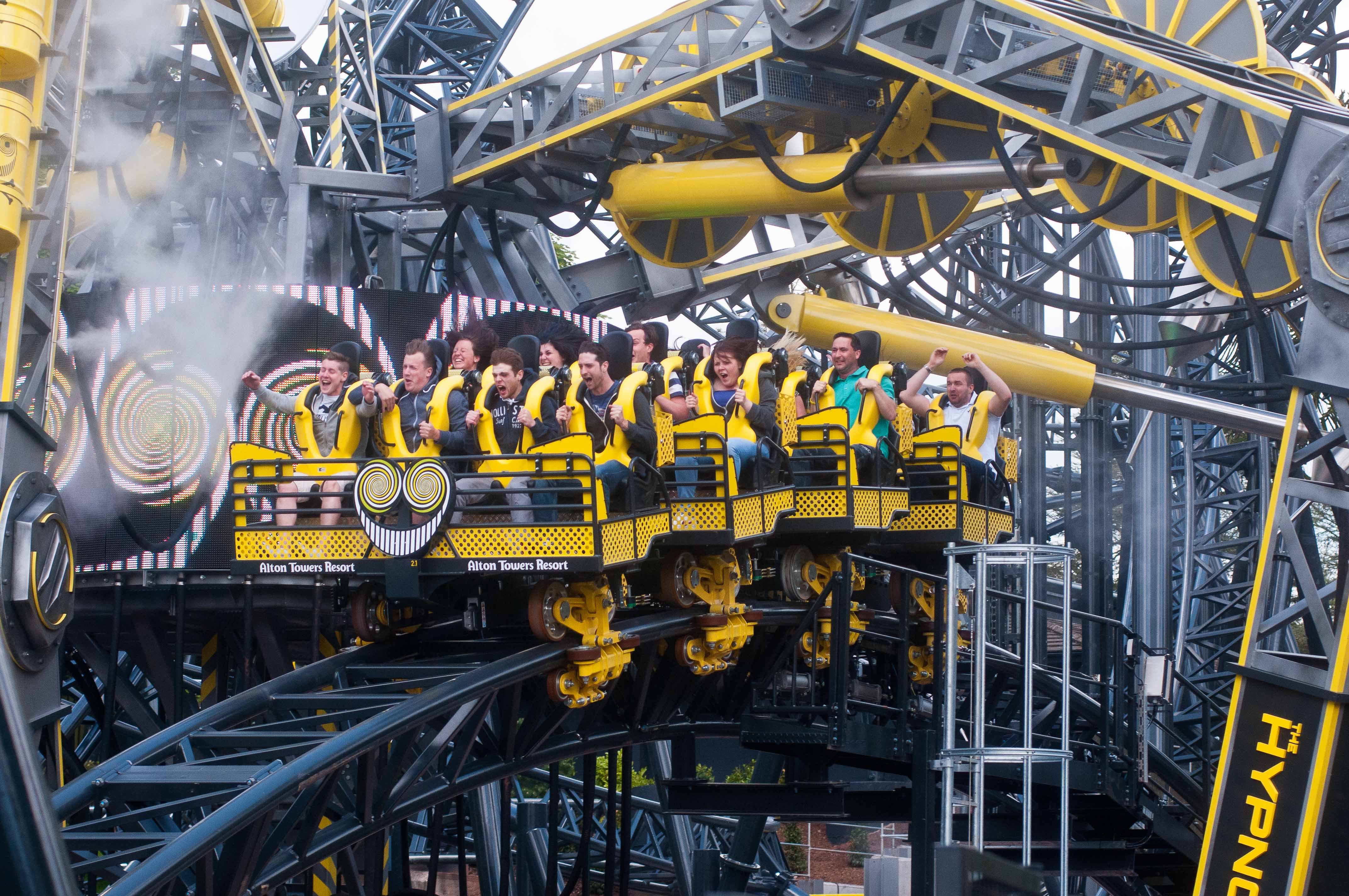 The Smiler at Alton Towers Resort