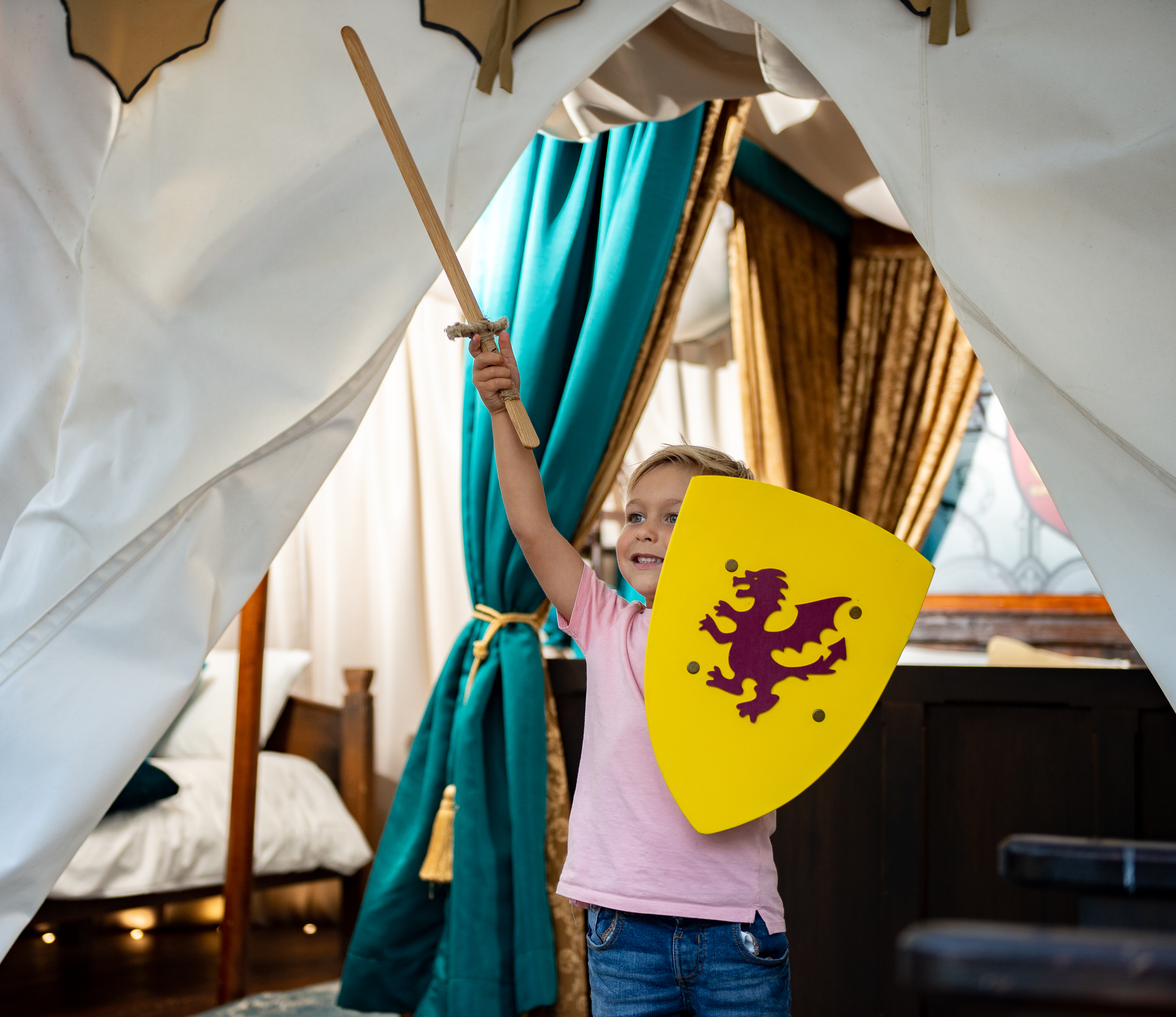 Knight's Village Glamping at Warwick Castle