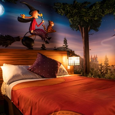 Room on the Broom themed room at the Chessington Safari Hotel