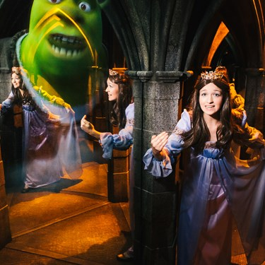 Shrek's Adventure! London Sleeping Beauty In Mirror Maze