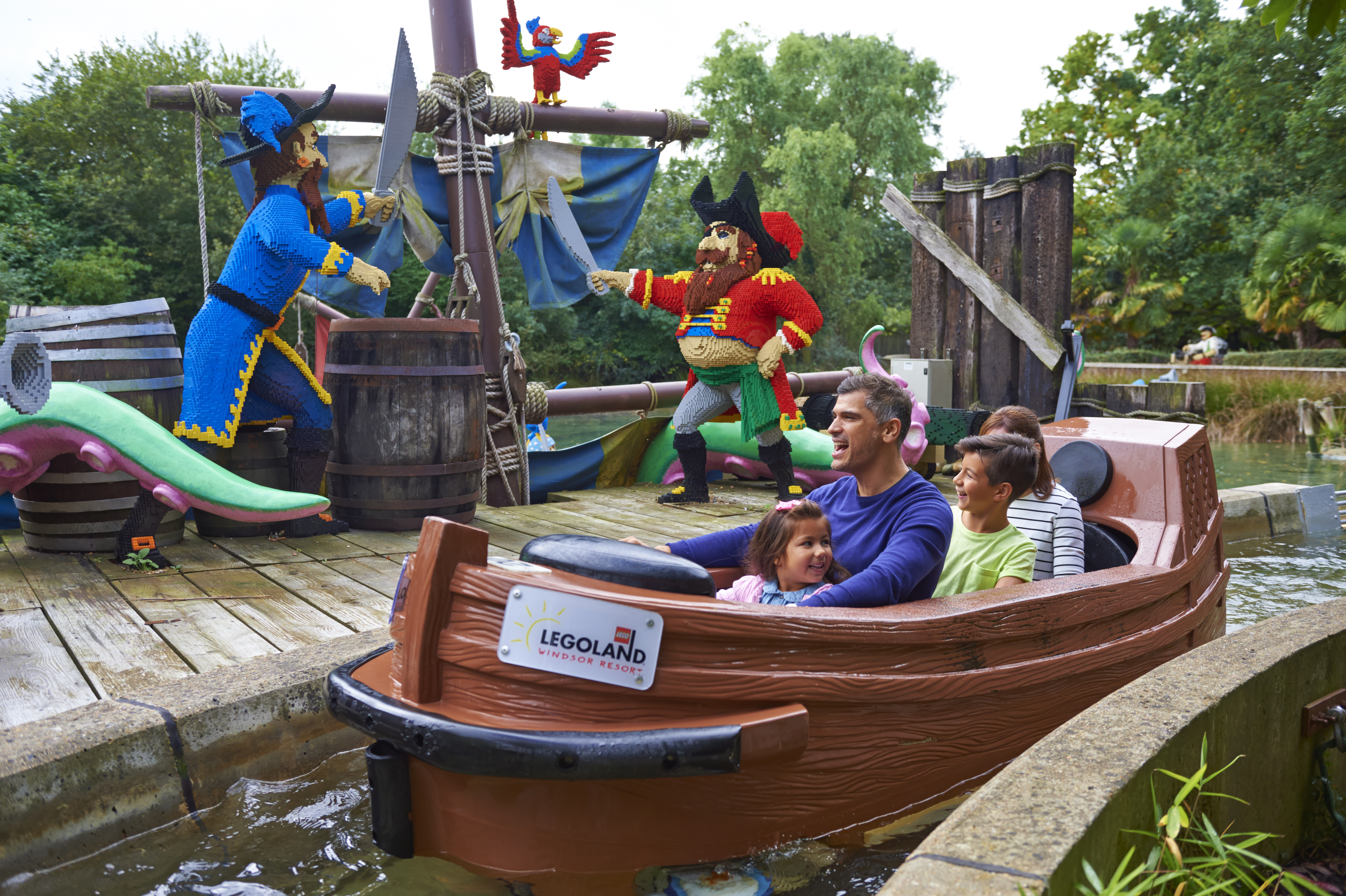 Pirate Falls at LEGOLAND® Windsor Resort