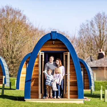 Stargazing Pods at the Alton Towers Resort