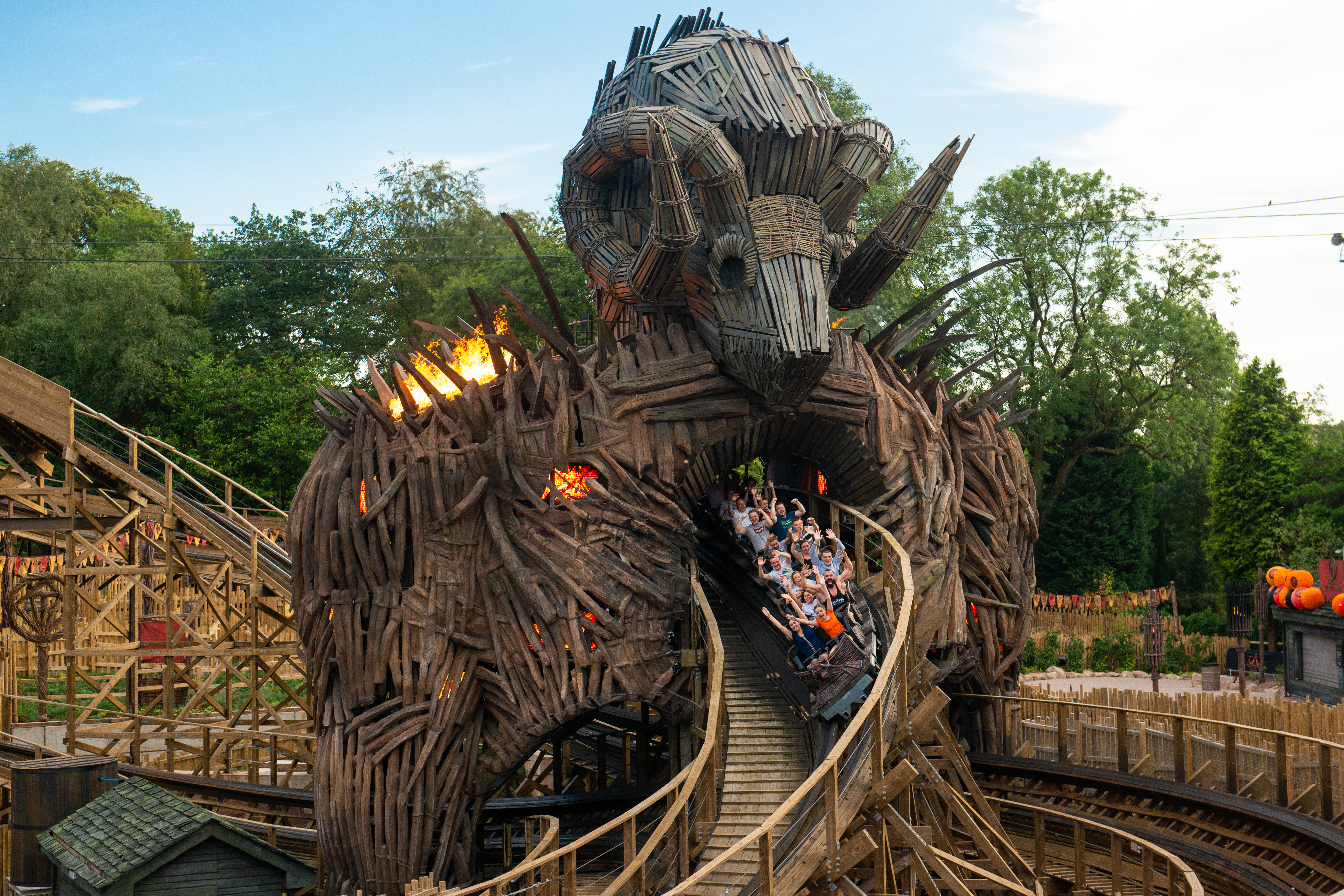 Wicker Man at the Alton Towers Resort