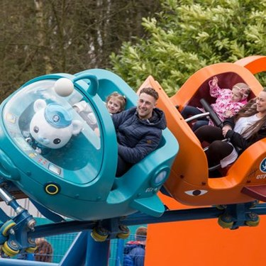 Octonauts Rollercoaster Adventure at the Alton Towers Resort